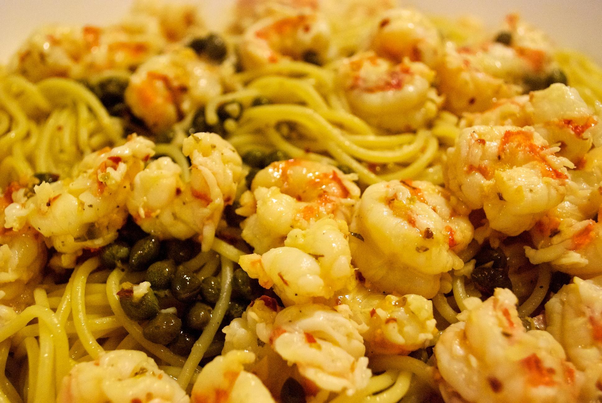 simple shrimp pasta